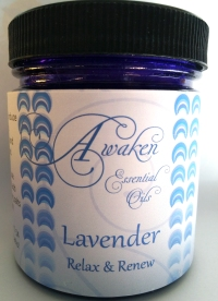 Soaking Salt Lavender White