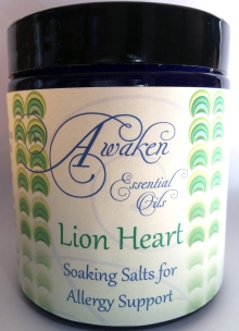 Soaking Salt Lion Heart White