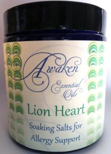 Soaking Salt Lion Heart White